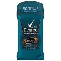 Degree Men Dry Protection Antiperspirant & Deodorant - Extreme Blast provides body odor and wetness protection that won't let you down Stick Sports, Rush 2, Body Odor, Body Heat, Face Cleanser, Men's Grooming, 6 Packs, Sensitive Skin, Packing