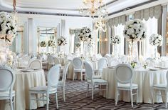 From romantic ceremonies to lavish wedding receptions and intimate wedding venues, Claridge's in London provides all the inspiration, care and attention you deserve. Luxury Wedding Venues, Luxe Wedding, Star Wedding, Wedding Reception Venues, Reception Table, Trendy Wedding, Wedding Services, Dream Wedding, Wedding Shot