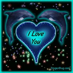 Showin Love Dolphins Glitter Graphic Glitter Graphic, Greeting, Comment, Meme or GIF Dolphin Quotes, Dolphin Art, Ocean Wallpaper, Disney Wallpaper, Beautiful Love Pictures, Cute Pictures, Dolphins Tattoo, Love You Gif, Glitter Graphics
