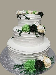 Succulent Wedding Cakes, Succulents, Bakery, Desserts, How To Make, Food, Meal, Bakery Shops, Deserts
