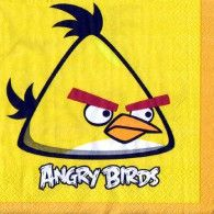 Angry Birds Large Party Napkins - Pack of 16 from Australia's Party Supplies. Bird Birthday Parties, Boy Birthday, Angry Birds, Party Napkins, Rock Design, Party Time, Party Supplies, Balloons, Party Ideas