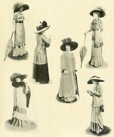 Les Createurs de La Mode 1910 - Sombreros