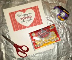 DIY Popcorn Valentine's Day Classroom Treat Idea For Kids - Crafty Morning
