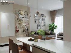 Thiết kế căn hộ chung cư Safira Khang Điền 85m2 - EKE INTERIOR Projects, Sapphire, Log Projects