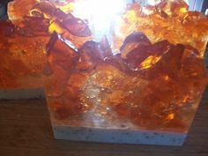 Poison Apple scented Geode slice Soap by RavensRestShop on Etsy, $5.75