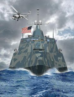Future Transportation - US Navy Orders Trimaran Littoral Combat Ship Future Transportation, Us Navy Ships, Navy Military, Yacht Boat, United States Navy, Military Weapons, Panzer, Aircraft Carrier, War Machine