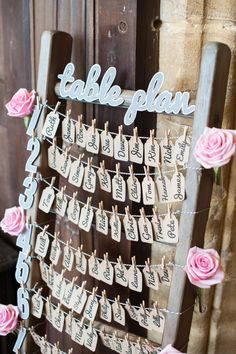Image by Source Images - A vintage style Spring wedding in Somerset with a grey and pink colour scheme and a lace Lusan Mandongus dress inspiration colour palettes Ruth & James - ROCK MY WEDDING Wedding Table Layouts, Wedding Table Seating, Wedding Themes, Wedding Blog, Diy Wedding, Wedding Planner, Wedding Day, Wedding Verses, Wedding Decorations