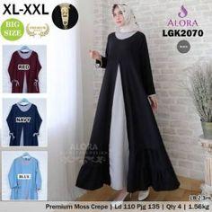 Pusat Grosir Baju Wanita | Baju Gamis Modern Batam, Muslim, Jakarta, Navy, Formal Dresses, Model, Surabaya, Red, Blue