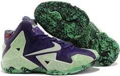 size 40 e2edd cf9fb Buy Real Original Nike Lebron XI 11 Gator King All-Star Cashmere Green Glow- Purple Dynasty Super Deals from Reliable Real Original Nike Lebron XI 11  Gator ...