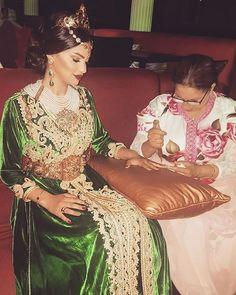 ❤ Moroccan Bride moroccan Caftan Moroccan wedding Mashaa'ALLAH