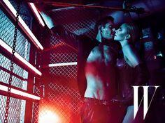 Charlize Theron, Michael Fassbender - W magazine photoshoot