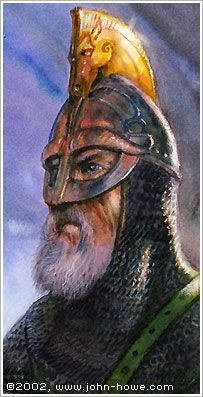 Theoden by John Howe