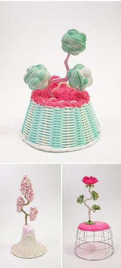 amy santoferraro - found item sculptures