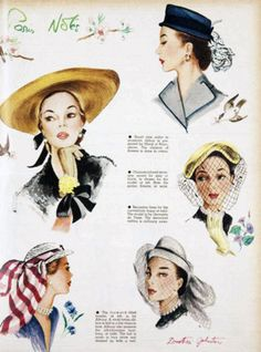More hats from 1951.