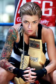 Ruby Rose. tomboi eye candy