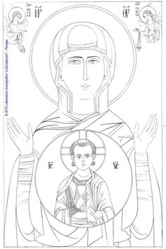 it wp-content uploads 2013 02 MdD-del-Segno-disegno. Painting Process, Painting & Drawing, Coloring Books, Coloring Pages, Cool Drawings, Tattoo Drawings, Bible Activities For Kids, Paint Icon, Orthodox Icons