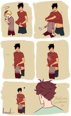 """kvnsk: """" How Kuroo caught Kenma. [x] I blame @suggestivescribe for this. 'cause I'm a sucker for all their wonderful works. Like. Real sucker. All thoses fic are fucking amazing, jfc. """""""