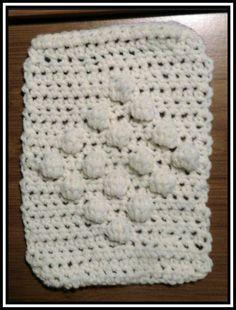 Crochet Patterns for the beginner or the advanced: Diamond Bobble Crochet Stitch Pattern