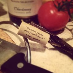 """#cooking with #robertmondavi"" -- Photo by @julesofthesea on Instagram"