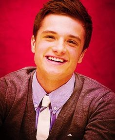 Okay Josh Hutcherson.  You've convinced me with the whole Peeta thing.....you're kind of cute