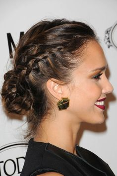 love this Jessica Alba hair look