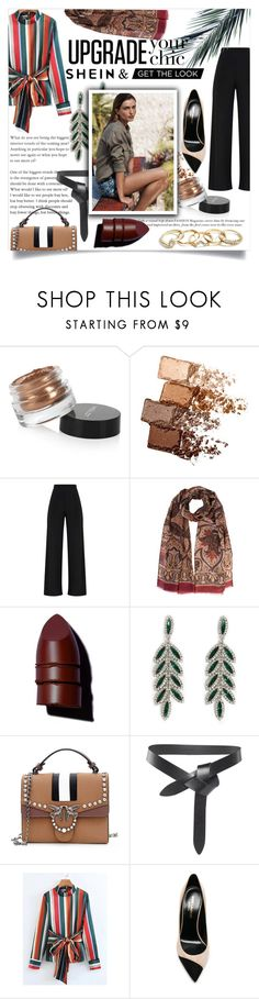 """Tropics in the Cold: Shein Contest"" by orchidsong0710 on Polyvore featuring Inglot, Maybelline, Anastasia Beverly Hills, Forever 21, Isabel Marant, Yves Saint Laurent and GUESS"