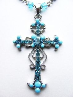 turquoise cross jewelry