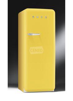 Żółta lodówka firmy SMEG to nie tylko niezawodne chłodzenie ale i niezapomniane wrażenia estetyczne.
