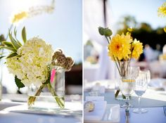 Flowers       Modern Yellow + Gray Wedding in San Clemente, CA | Images by CHARD photographer | Via Modernly Wed | 48