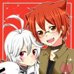 Hiroshi and Haruka
