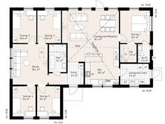 Smart Home, Homesteading, Tiny House, House Plans, Villa, Floor Plans, Exterior, Flooring, How To Plan