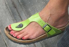 Men Nail Polish, Beautiful Toes, Sexy Sandals, Female Feet, Women's Feet, Huaraches, Black Heels, Open Toe, Footwear