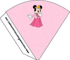 Minnie Princesa: imprimibles gratis.
