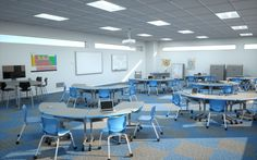 21st Century Classroom, Smith System Arc Desks, Plato Chairs, Interchange Multimedia Table, Cascade Storage and more! #21stcenturyclassroom