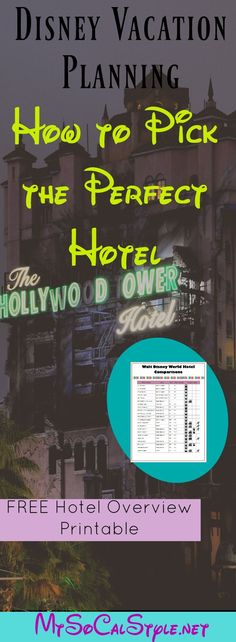 This is the PERFECT resource for Disney World Resort info! Be sure to check it out and grab the FREEBIE! Disney Vacation Planning, Orlando Vacation, Trip Planning, Disney Hotels, Walt Disney World Vacations, Disney Travel, Disney Parks, Disney World Tips And Tricks, Disney Tips