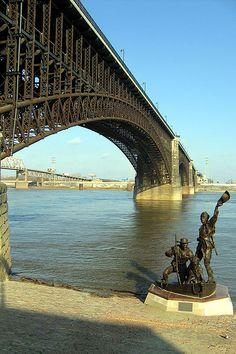 Eads Bridge St. Louis by Neato Coolville, via Flickr