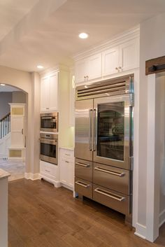 Real Fit Housewife: Welcome to my Home: Our Little Slice of Heaven  That fridge tho!