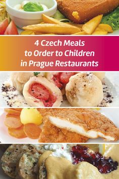 Prague with Family I Prague with Kids I Czech Meals I Prague Family Restaurants