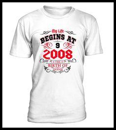My life begin at 9th born in 2008 (*Partner Link)