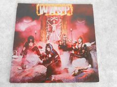 Minor scratches, typical wear on sleeve I don't believe in all these different grades of ratings becauseI have seen records with Minor or No Scratches... #record #album #vinyl #metal #heavy #wasp