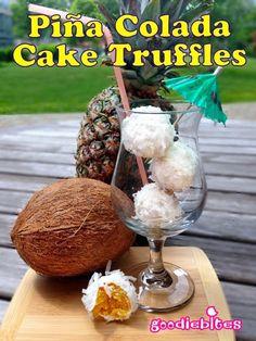 Pint Sized Baker: Piña Colada Cake Truffles