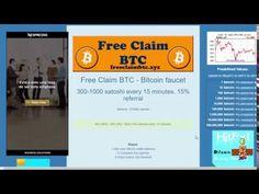 Биткоин кран FREE CLAIM BTC 300-1000 сатоши каждые 15 мин!