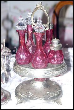 Victorian Cruet Set by Sherry's Rose Cottage on Flickr.