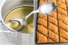 Baklava Recipe, Honey Baklava, How to Make Best Baklava Greek Desserts, Summer Desserts, Easy Desserts, Dessert Dishes, Dessert Recipes, Dessert Bars, Dessert Ideas, Pineapple Angel Food, Baklava Recipe