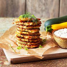 Zucchiniplättar med fetaost och dill   Recept ICA.se