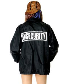 INSECURITY COACHES JACKET at Shop Jeen - SHOP JEEN