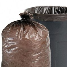 PK100 Recycled Can Liner 1.5mil 55-60 gal