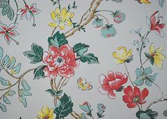 Bob Collins Layla. Gray Colorway. Wallpaper Designs