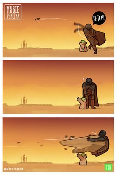 How to train your Yoda. Simbolos Star Wars, Star Wars Jokes, Star Wars Comics, Star Wars Baby, Star Wars Fan Art, Stormtrooper, Online Comics, Star Wars Pictures, Funny Pictures