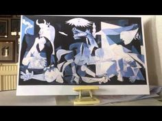 ▶ ¿Como explicar el Guernica de Picasso a los niños? - YouTube Ap Spanish, Spanish Culture, Spanish Class, Picasso Guernica, Pablo Picasso, Painting For Kids, Art For Kids, Ecole Art, Spanish Activities